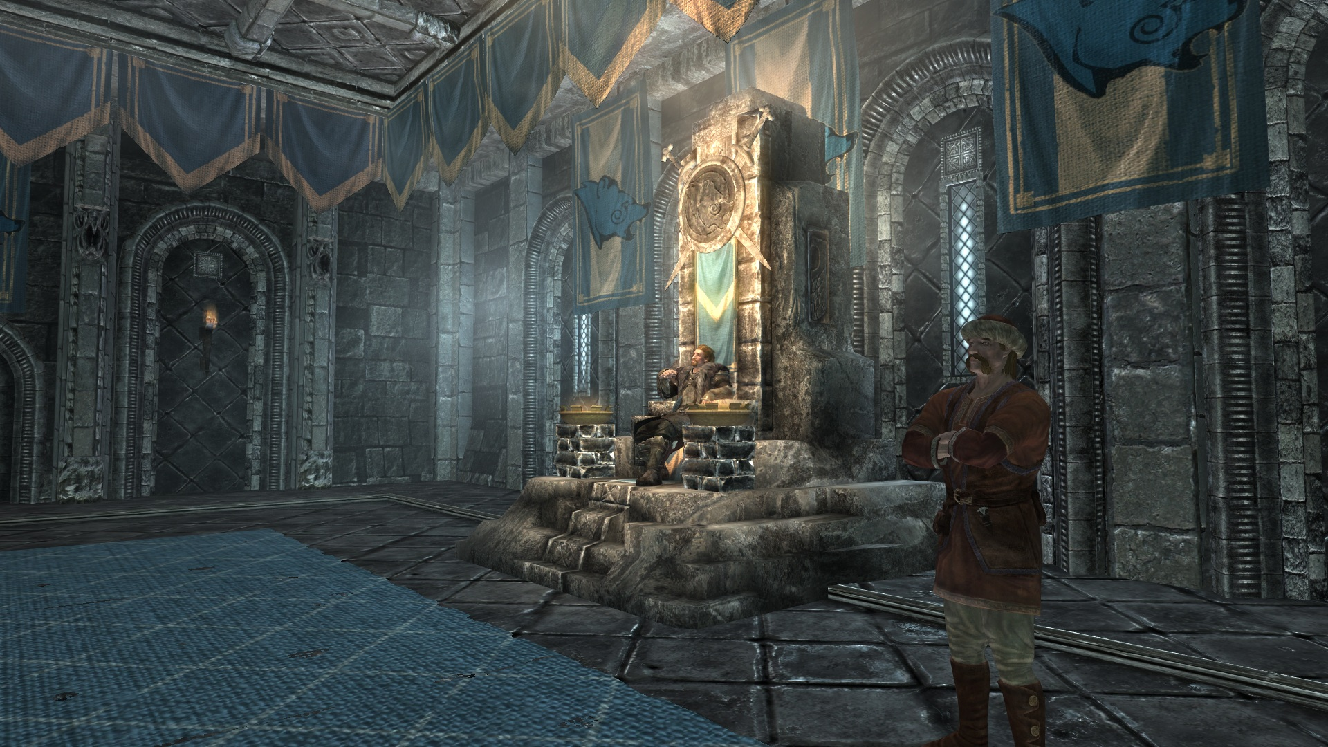 Imagen - Throne Room with Jarl.jpg | Elder Scrolls ...