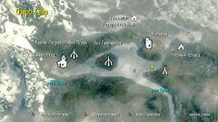 Озеро Гейр - карта