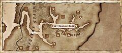 Форт Красная Вода (Карта)