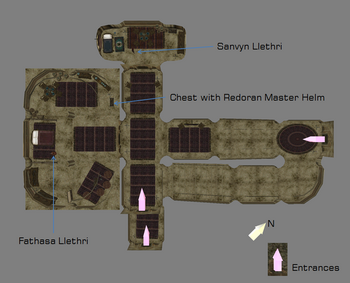 Bedrooms map