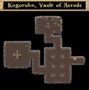Kogoruhn, Vault of Acrode - Interior Map - Morrowind