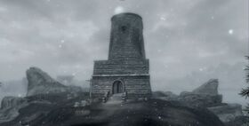 Skyrim Solitude Lighthouse
