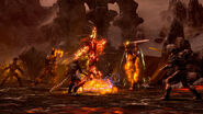 TESO Atronach de feu Combat capture officielle