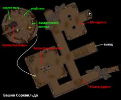 Башня Сорквильда. План