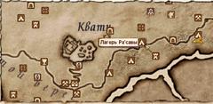 Лагерь Ра'савы - карта
