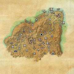 Ривенспайр-Пещера Судьба тени-Карта