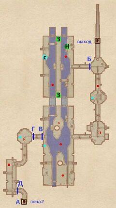 Северный туннель (1). План