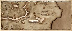 Форт Каптор (Карта)