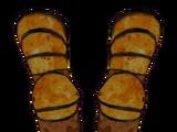 Янтарные перчатки