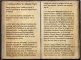 Crafting Motif 7: Khajiit Style