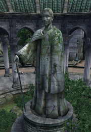 Tiber Septim Imperial City Statue