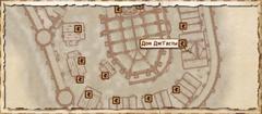 Дом ДжГасты. Карта