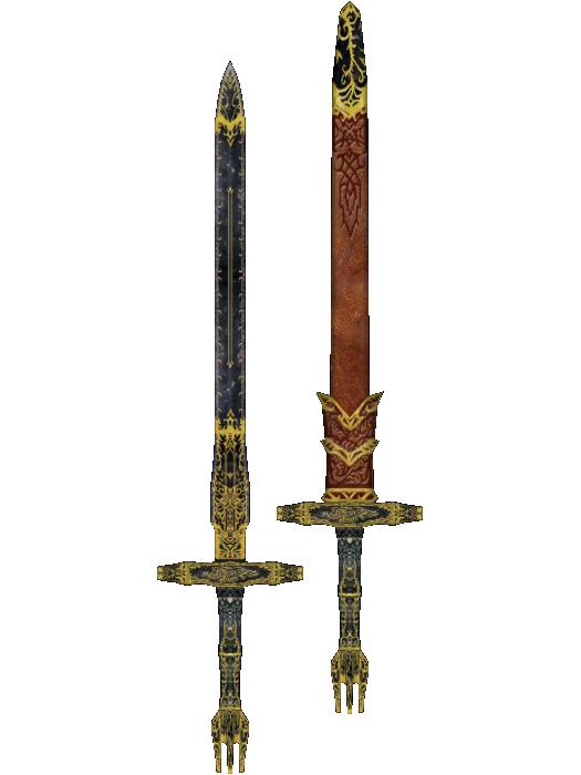 Ebony sword