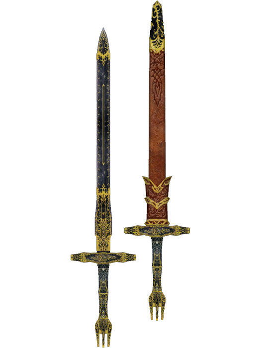 Durable Ebony Longsword | Elder Scrolls | FANDOM powered by