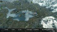 La posizione del lago sulla Mappa Generale.