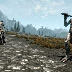 Giganty z gry The Elder Scrolls V: Skyrim