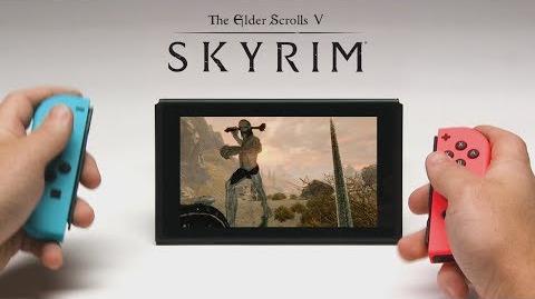 Skyrim Switch – Tráiler de presentación del E3