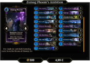 Zumog Phoom's Ambition Deck 2
