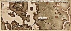 Форт Сеянус (Карта)