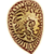 Golden Saint Shield Icon