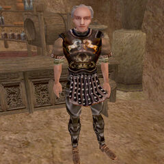 Talos pod postacią Wulfa z gry The Elder Scrolls III: Morrowind