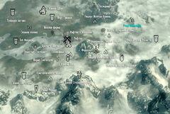 Роща Великанов Карта Giant's Grove Map 001