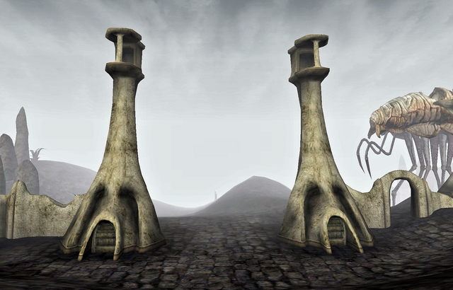 File:Ald'ruhn Guard Towers.png