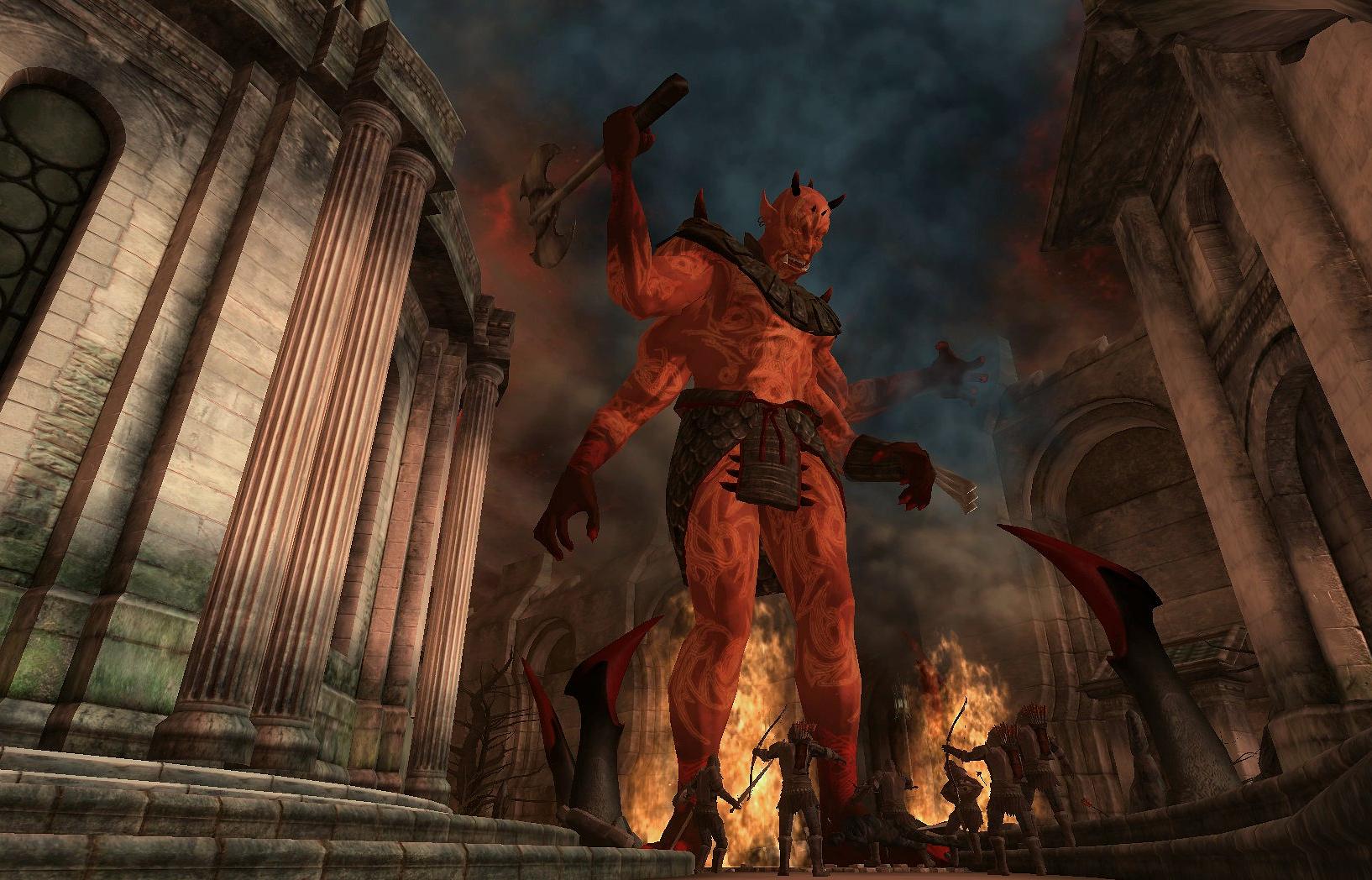 image light the dragonfires mehrunes dagon png elder scrolls