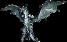 Белый дракон (в полёте)