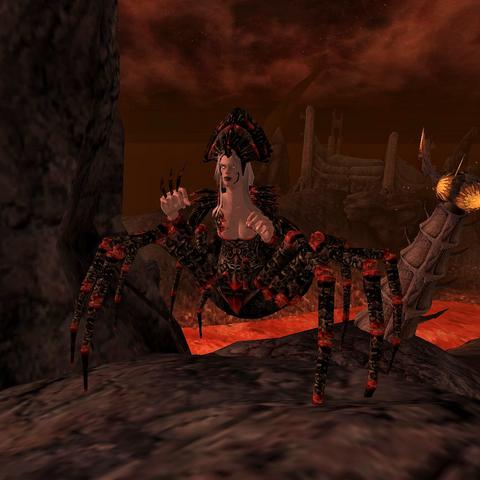 Jedna z pajęczych Daedr służących <a href=