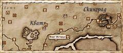 Форт Истирус (Карта)