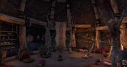 Abandoned Mud Hut Interior 1