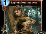 Exploradora arquera