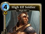 High Elf Soldier