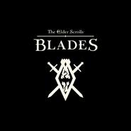 The Elder Scrolls Blades Logo Dark Background