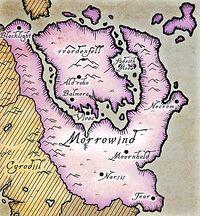 Морраўінд (карта)