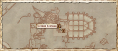 Часовня Акатоша. Карта