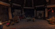 Abandoned Mud Hut Interior 3
