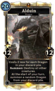 Alduin alternate card DWD