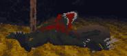 Arena - Lizard Man Death Sprite