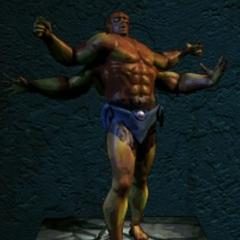 Mehrunes Dagon z gry An Elder Scrolls Legend: Battlespire
