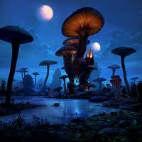 Mushroom Tower card art