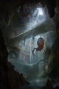 Spider Lair card art
