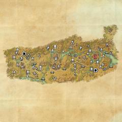 Дешаан-Крепость Тал'Деик-Карта