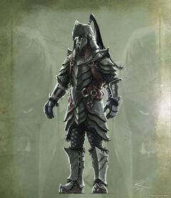 Орк воин орочья броня