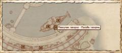 Плавучая таверна. Карта