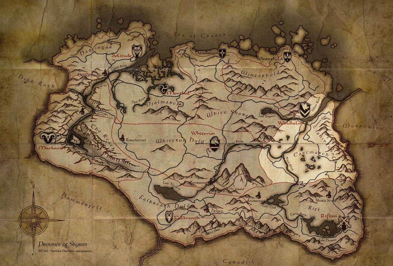 Quick reminder that the world map is a mess — Elder Scrolls ...