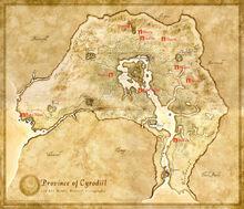 Oblivion map piedra emperadores