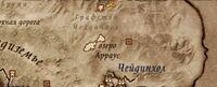 Карта святилища Азуры