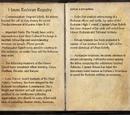 House Redoran Registry